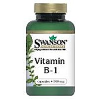 Vitamin B-1 (Thiamin) 100 Mg 250 Caps By Swanson Premium