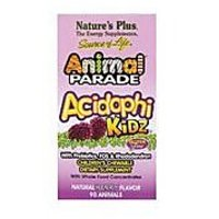 Nature's Plus - Animal Parade Acidophikidz, 90 Chewable TabletsBerry Flavor,