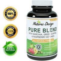 NEW Pure Garcinia Cambogia, Green Coffee Bean & Raspberry Ketones Complex +