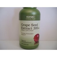 GNC Herbal Plus Standardized? Grape Seed Extract 300mg 100 Capsules