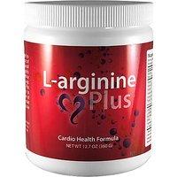 L-arginine Plus, Cardio Health Formula - 5,000mg L-arginine & 1,000mg