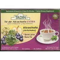 3 PACK Tadin Artichoke Diet Tea Alcachofa Te - Total Of 72 Tea Bags