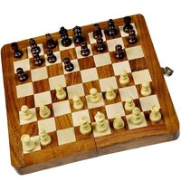 UFC Mart Designer Wooden Chess Board Handicraft Gift