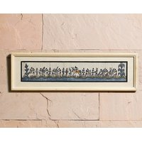 UFC Mart Pleasant Wooden Frame With Warli Paint On Silk