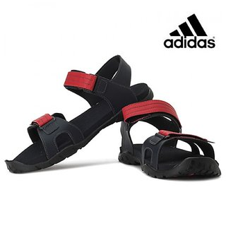 Adidas Men's Sandal Dark Grey,Red