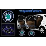 Speedwav Car Door Shadow Laser Light - Skoda