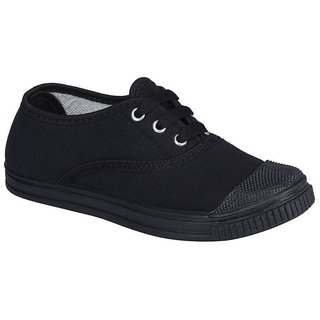 Black Tennis Canvas School Shoes (ALL SIZE AVAILABLE)