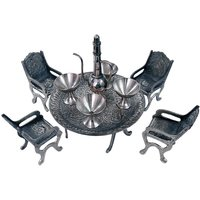 UFC Mart Unique Design Dining Table Chair Maharaja Set
