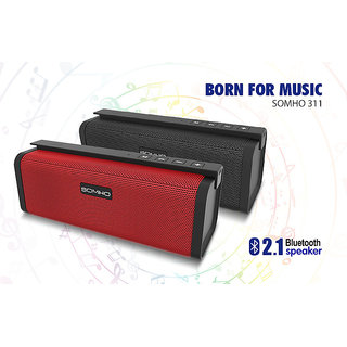 SOMHO S311 TF Portable Dual Loud Speaker Bluetooth Speaker Wireless Mini Usb Multifunction Card Audio Amplifier