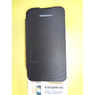 Karbonn A90 Flip Cover - Black at Best Prices - Shopclues ...