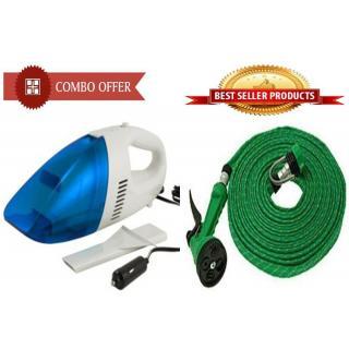 Buy Car Vacuum Cleaner With 10 Meter Spray Water Pipe