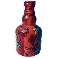 Funky Oil Color Art On Bottle