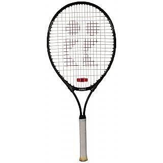 HOMMER Carbon-Steel Tennis Racquet Size 21 BLUE