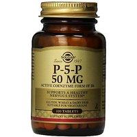 Solgar Pyridoxal-5-Phosphate Tablets, 50 Mg, 100 Count