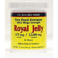 Ys Organics Organic Royal Jelly In Honey - Pure Royal Energizer - 11.5 Oz.
