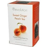 Revolution Tea - Sweet Ginger Peach Tea, 16 Bag