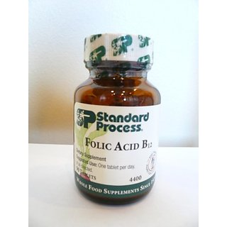 Standard Process Folic Acid B12 90 Tablets