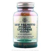 Solgar - Saw Palmetto Pygeum Lycopene C, 50 Veggie Caps