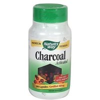 Nature'S Way Activated Charcoal, 100 Capsules (Pack Of 2)