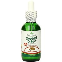 Sweet Drops Liquid Stevia, Cinnamon, 2 Ounce