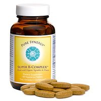 Pure Synergy Organic Super B Complex - 60 Tabs