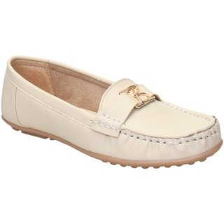 CATBIRD Women Cream Loafer