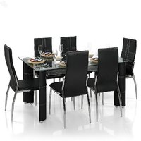 Royal Oak Geneva Dining Set With 6 Chairs
