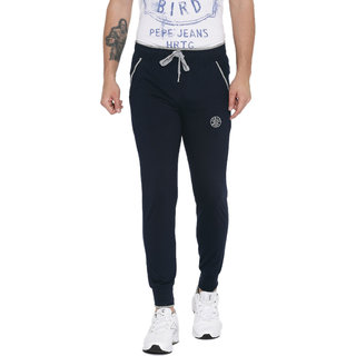 2ac7ec2a75a SPORTS 52 WEAR Mens Cotton Blended Jogger Trackpant S52W149152Navy  available at ShopClues for Rs.716