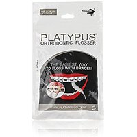 Platypus Ortho Flossers 30/Pack (2 30-packs = Total 60 Flossers)