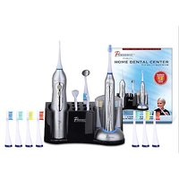PURSONIC S620 DELUXE HOME DENTAL CENTER Sonic Toothbrush W/ Oral Irrigator All