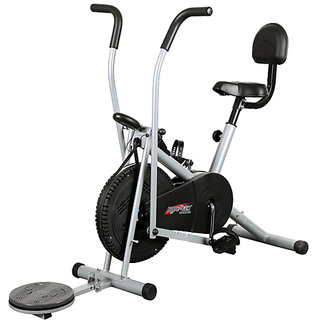 Body Gym Air Bike Exercise Cycle BGA2001 With Back  Twister available at ShopClues for Rs.7990