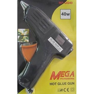 Mega Professional Hot Glue Gun 40 W +2 small free