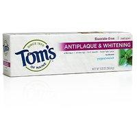 Tom's Of Maine Natural Antiplaque Tartar Control & Whitening Toothpaste,