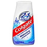 Colgate 2 In 1 Whitening Toothpaste & Mouthwash-4.6 Oz (Pack Of 6)