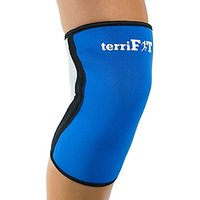 Knee Sleeves Crossfit - 5mm Neoprene Compression Sleeve  Medium Support - Close Patella Added Comfort - Fits Men and Women (L, Blue)