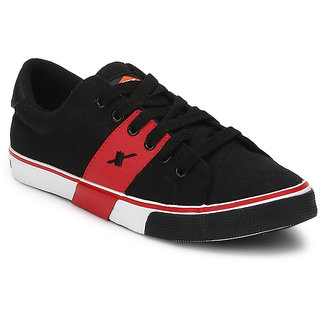 Sparx Men Black & Red Casual Shoes (SM-215)