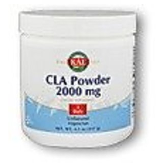 KAL CLA Nutritional Supplement Powder, 2200 Mg, Unflavored, 117 Gram