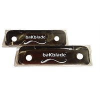 "New! Bakblade'S ""Bigmouth"" Do-It-Yourself Back Shaver Replacement Set"