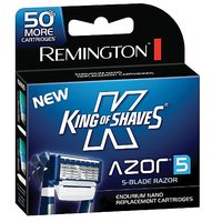 Remington King Of Shaves Azor 5 Men'S Shaver Replacement Cartridges 6 Count