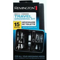 Remington Men'S 15 Piece Travel Grooming Kit