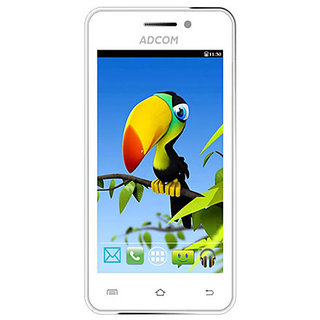 Adcom Smart Phone A-400 White