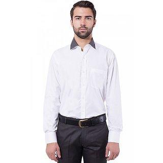 Formal Shirt White Color Slim Fit for Men