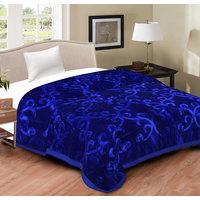 Spangle Yarn Mink Solid Color Blanket Single Bed
