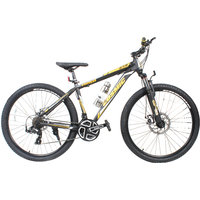 Cosmic Trium 27.5 Inch Mtb Bicycle Bike 21 Speed Black Gold Premium Edition