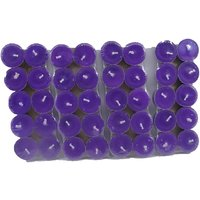 Pack Of 40 Scented Purple Tealight T-lite Candles For Diwali Birthday Party Gift