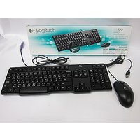 Logitech MK100 PS/2 Keyboard And USB Mouse
