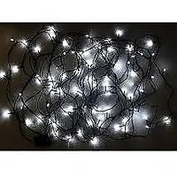 Festival Lights - 230 LED Bulbs -Color : White - Set Of 2 With FREE Jointer