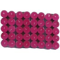 Pack Of 40 Scented Pink Tealight T-lite Candles For Diwali Birthday Party Gift