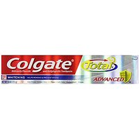 Colgate Total Advanced Whitening Toothpaste, 7.6oz (Pack Of 2)