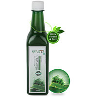 Naturyz Wheatgrass with Aloe Vera Juice-with No Added Sugar- Natural and Pure -500ml